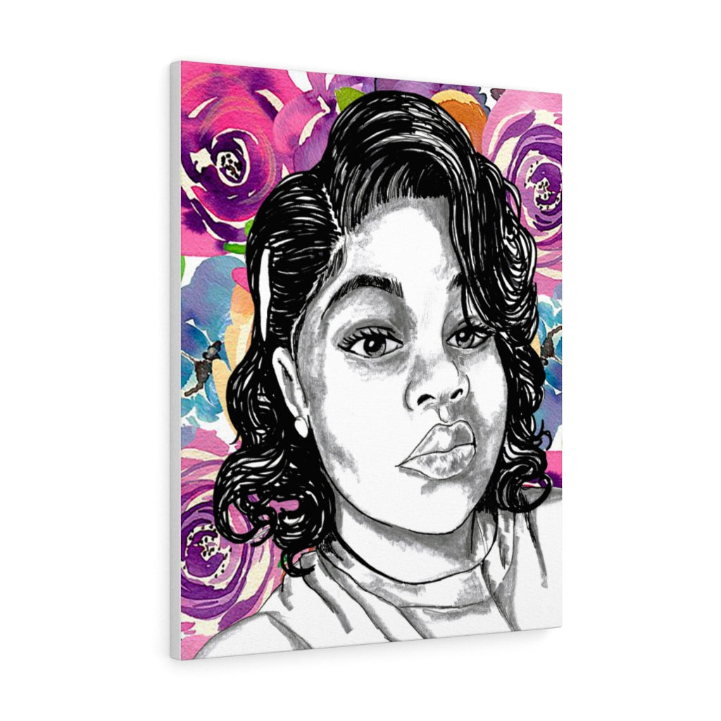Breonna Taylor by Jesse Raudales Canvas Gallery Prints