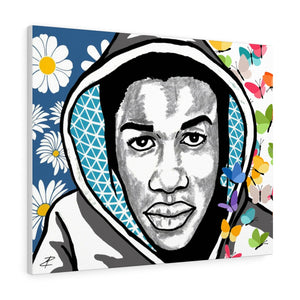 Trayvon Martin by Jesse Raudales Canvas Gallery Wraps
