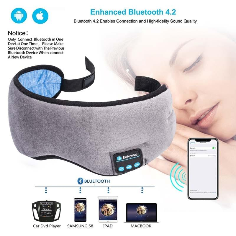 Máscara de Dormir Bluetooth