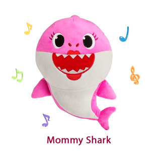 Baby Shark Pelúcia Musical