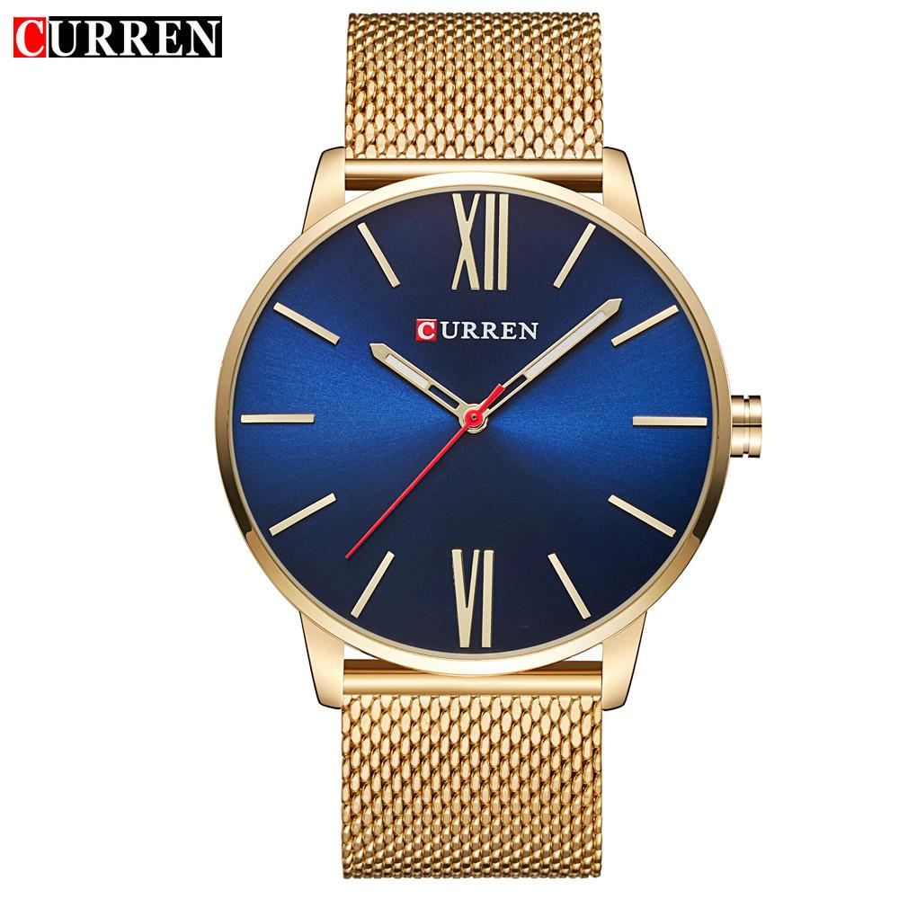 CURREN Relogio Boss Quartz