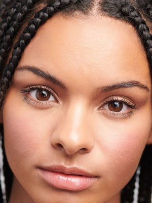 The Eyebrow Pencil - in light brown shade on model