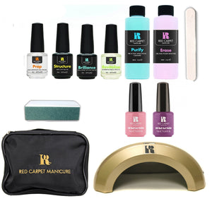 Gel Nail Kit - Red Carpet Manicure Cinderella