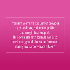 Vegan Women's Fat Burner Capsules