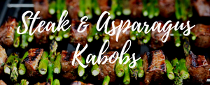 Steak & Asparagus Kabobs