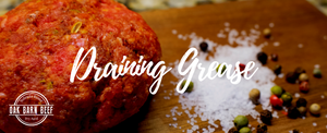 How to Drain Grease from Ground Beef