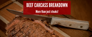 Beef Carcass Break Down: Beef Cuts