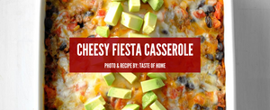 Cheesy Fiesta Beef Casserole - You Have To Try This One!