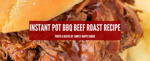 Instant Pot BBQ Beef Roast Recipe