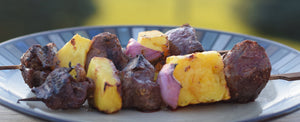 Kid Friendly: Grilled Hawaiian Beef Kabobs