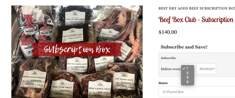 Beef Box Subscription