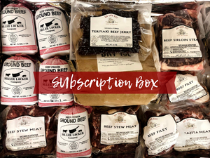 Beef Box Club - Monthly Box of Dry Aged Beef from Our Farm to Your Doorstep