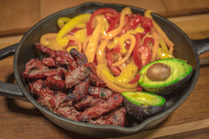 Fajita Meat - Nebraska Raised & Dry Aged Beef from our Family Farm