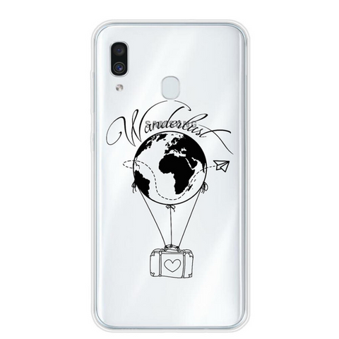 Coque carte du monde wonderlust.