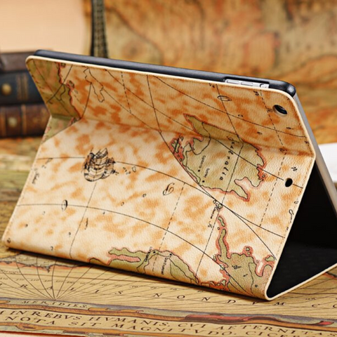 Coque Carte Du Monde Ipad