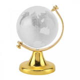 Globe Terrestre Design Or