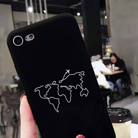 Coque Iphone Carte Du Monde Mappemonde