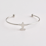 Bracelet mappemonde avion
