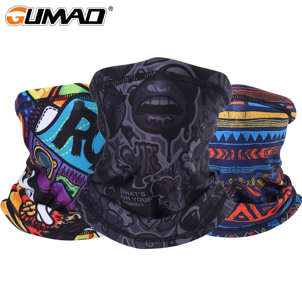 3D Seam Neck Gaiter Thermal Half Face Mask Warmer Fleece Tube Shield Sport Cycling Skiing Hiking Biker Bandana Scarf Men Women