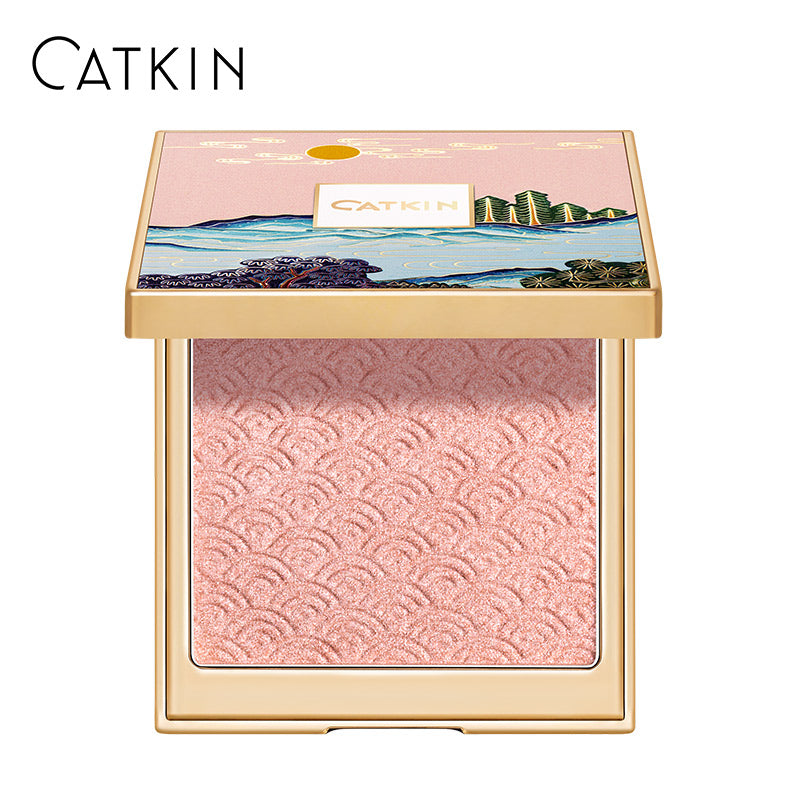 CATKIN 12g Moonlight Contour Palette C02 Light Pink Shimmer