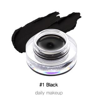 TONYMOLY Back Gel Eyeliner Long Brush 4g Long-lasting Waterproof Black Eyeliner Classic Korea Cosmetic
