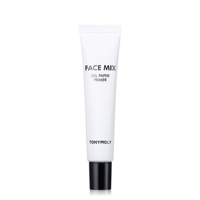 TONYMOLY Face Mix Oil Paper Primer 25g Beauty Makeup Face Foundation Primer Waterproof Long Lasting Concealer Cream