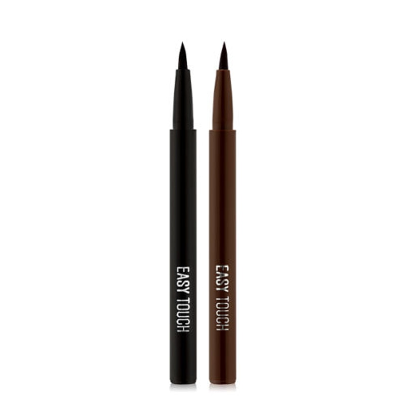 TONYMOLY Easy Touch Brush Pen Eyeliner 1.1g Black Eyeliner Pencil Waterproof Pen Long-lasting Liquid Eye Liner Smooth Make Up