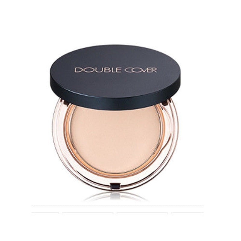 TONYMOLY Double Cover Pact SPF50+ PA++++ 11.5g Moisturizing Smooth Foundation Pressed Powder Makeup Concealer Face Whitening