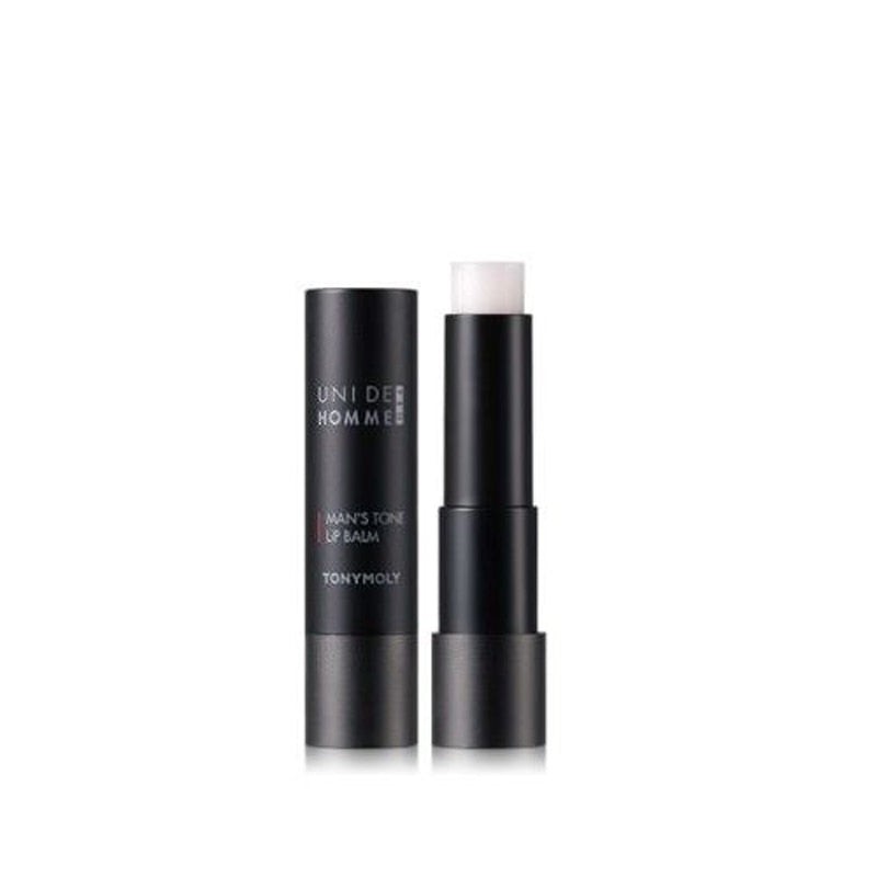 TONYMOLY Uni De Homme Pro Man's Tone Lip Balm 3.4g Lip Care Moisturizing Lipstick Anti-cracking Beauty Lip Gloss Korea Cosmetics