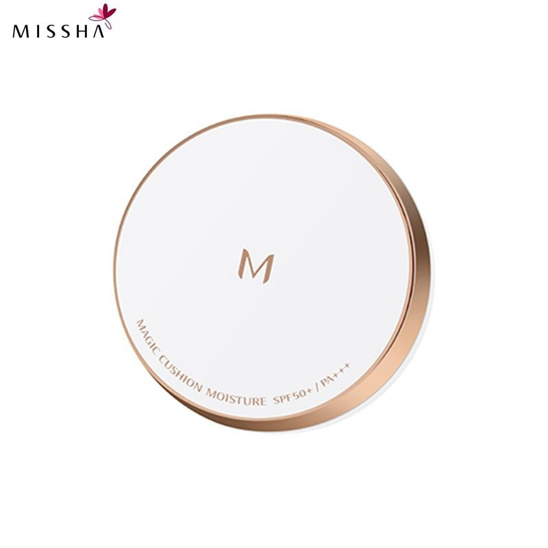 MISSHA M Magic Cushion Moisture 21 Light Beige/23 Natural Beige Cushion Whitening flawless air cushion BB cream Foundatio