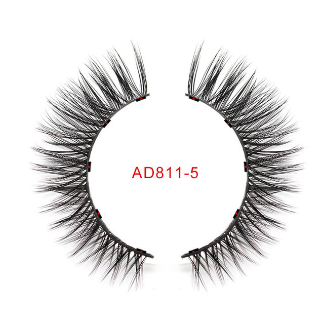 Genailish Magnetic eyeliner Magnetic Eyeashes false eyelashes waterproof long lasting eyeliner custom packaging Box  EY-KS02