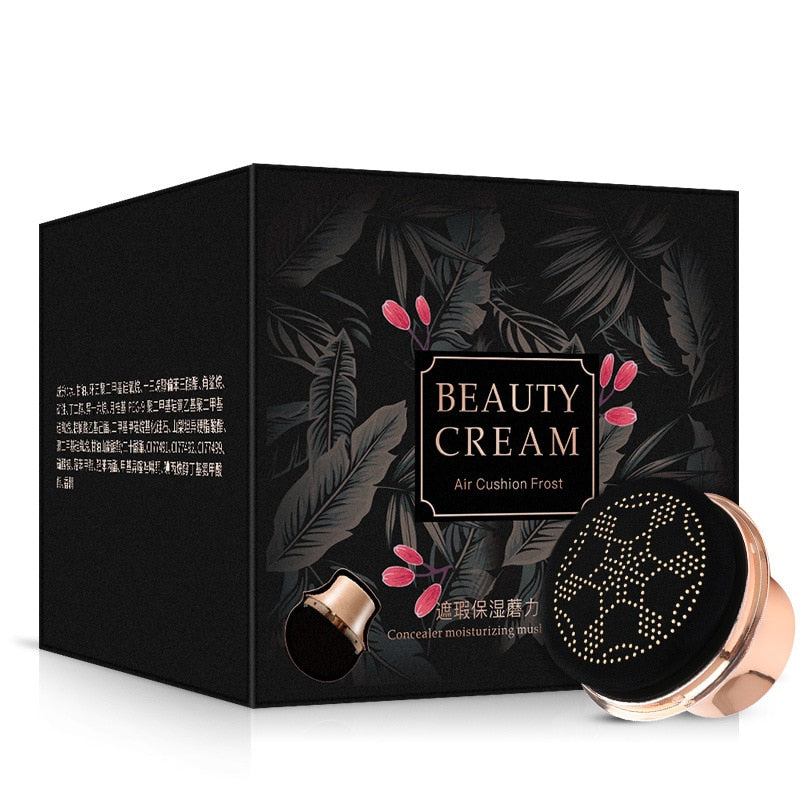 Mushroom air cushion Moisturizing BB cream korean nude makeup long lasting skin care and beauty  makeup  cushion foundation