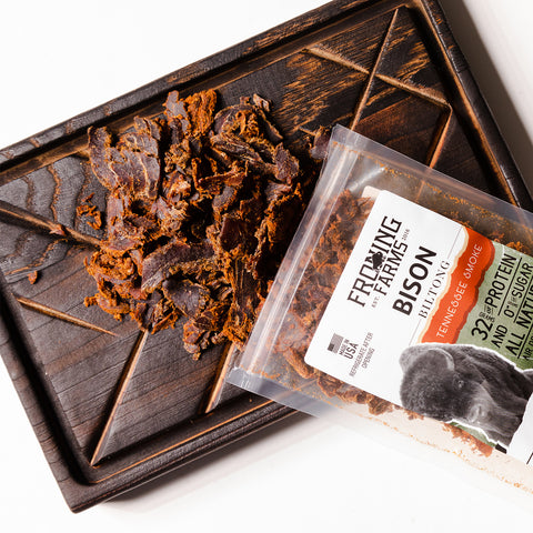 froning farms delicious bison biltong tennessee smoke