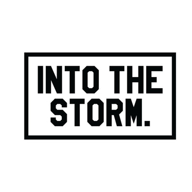 Into The Storm Decal - Rectangle
