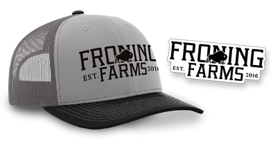Froning Farms Hat + Decal Gift Set