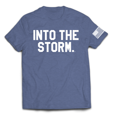 Into the Storm 2.0 Tee // Heather Navy