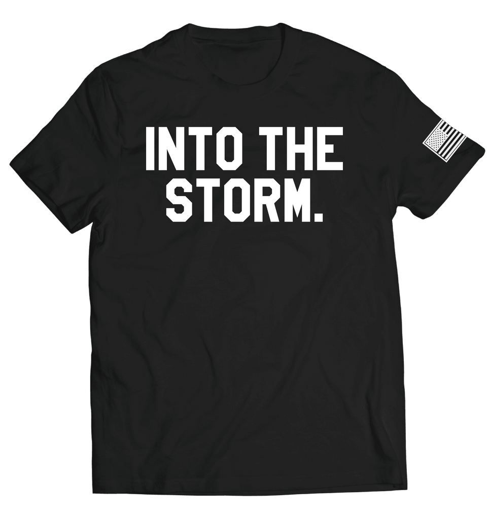 Into the Storm 2.0 Tee // Black