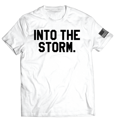 Into the Storm 2.0 Tee // White