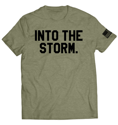 Into the Storm 2.0 Tee // OD Green