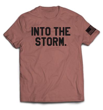 Into the Storm 2.0 Tee // Mauve