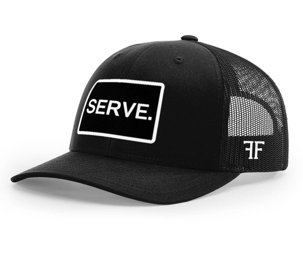 SERVE. Hat // Black