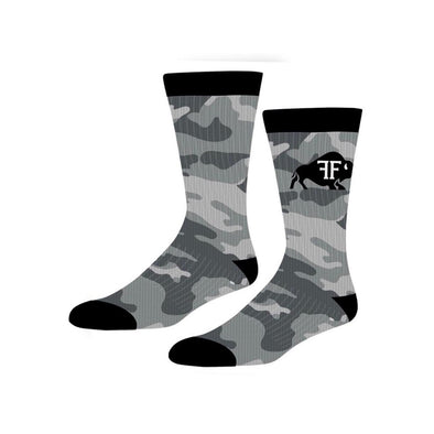 Froning Farms Socks // Camo Bison
