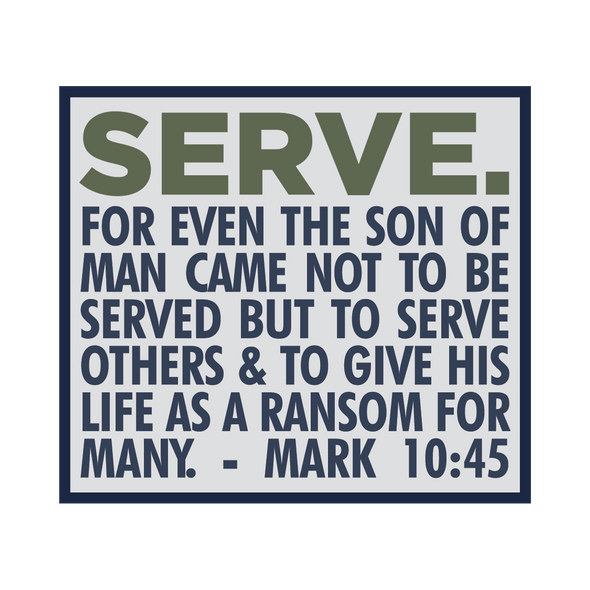 Serve Sticker