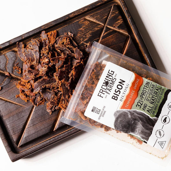 Bison Biltong | Tennessee Smoke