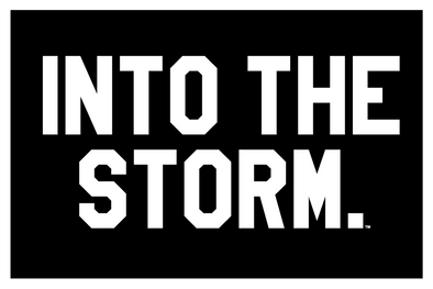 Into The Storm.  Patch // Black