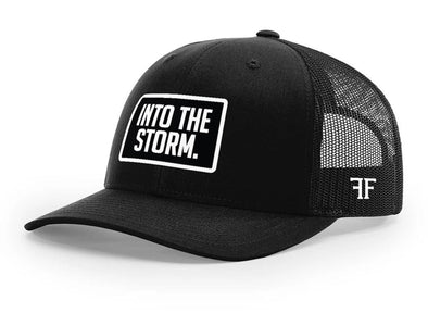 Into The Storm Hat // Black