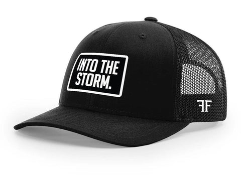 Into The Storm Hat // Solid Black