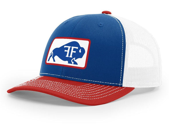 Bison Hat // Red, White, & Blue