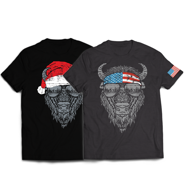 Bison Tee Bundle
