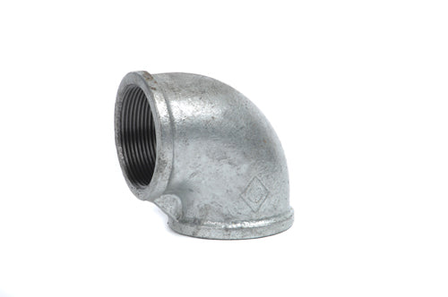 "25mm (1"") Elbow Threaded F&F - Gal Mal 90° degrees"